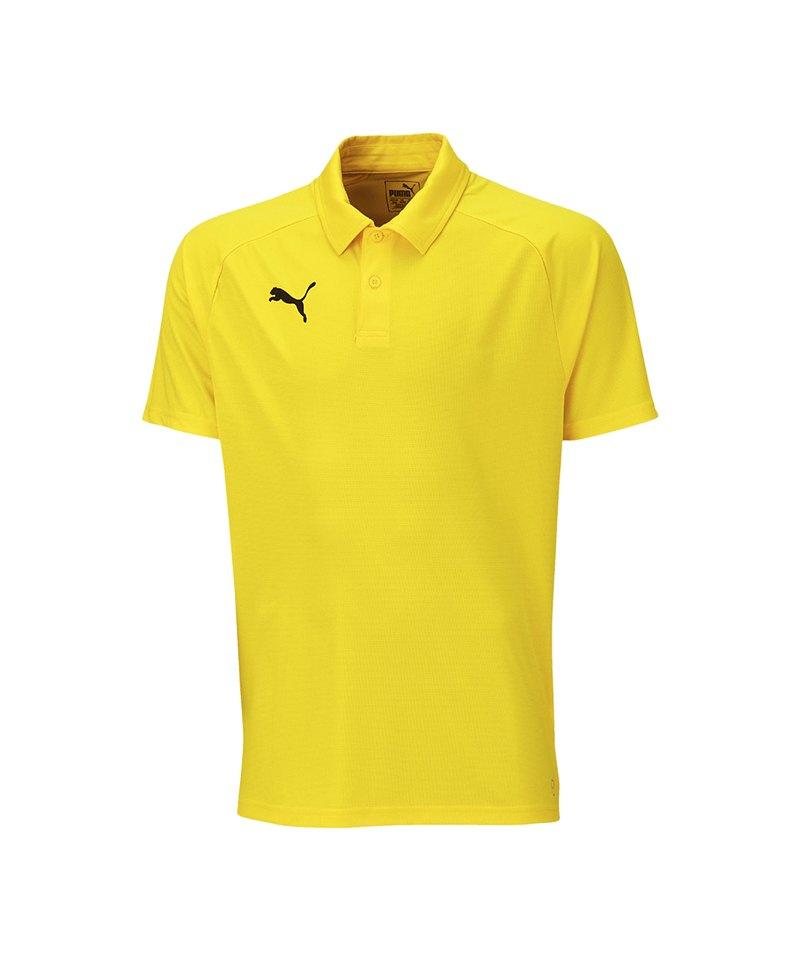 PUMA LIGA Casuals Poloshirt Gelb F07 - gelb