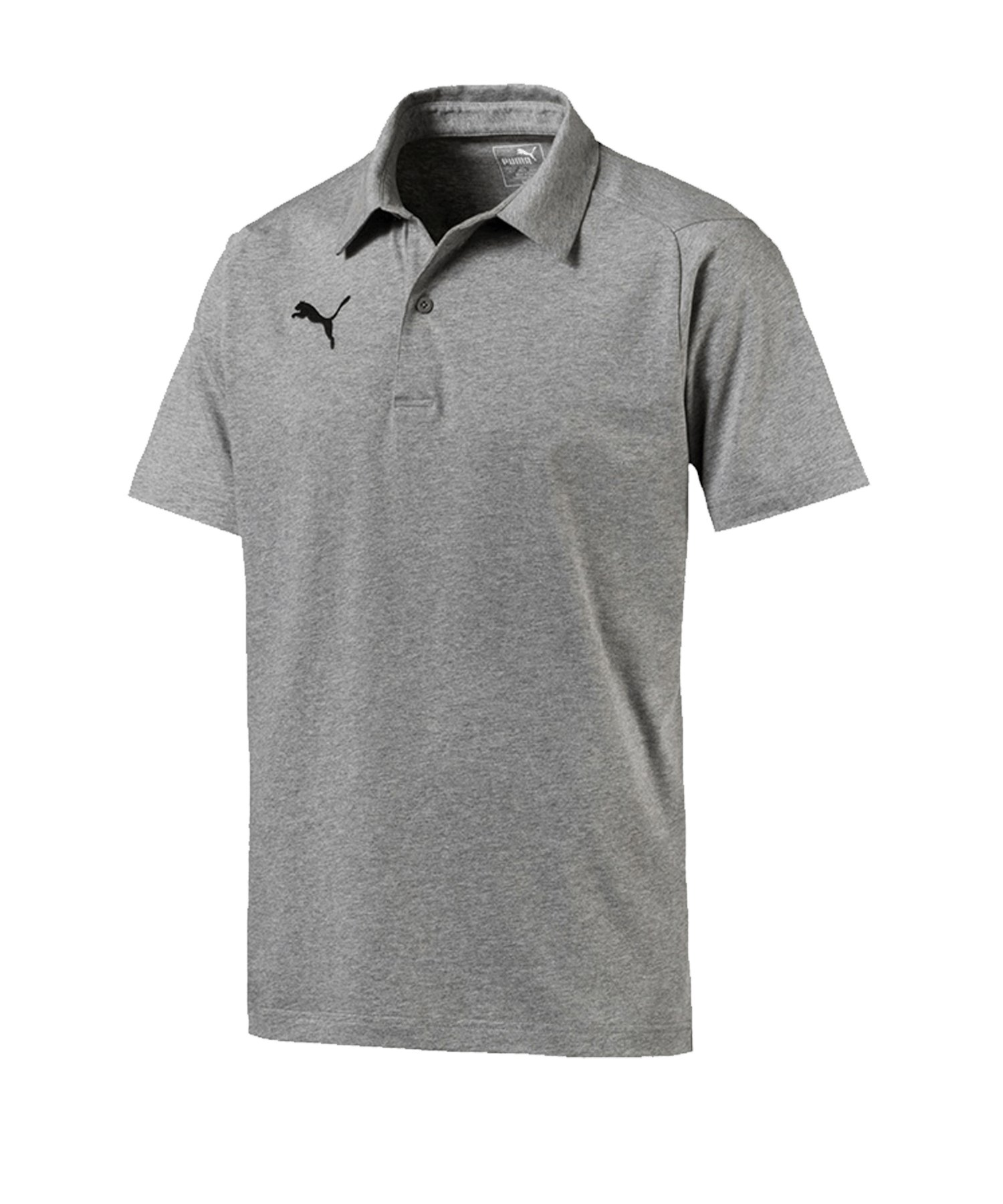 PUMA LIGA Casuals Poloshirt Grau F33 - grau
