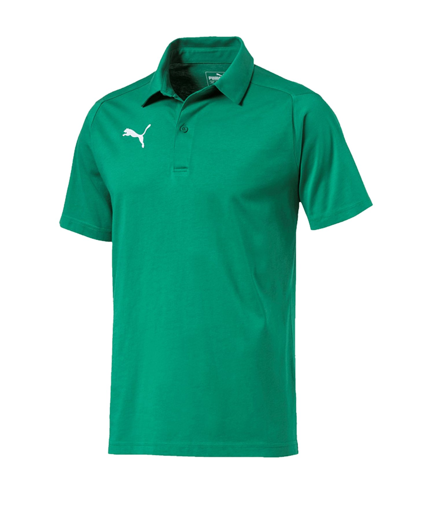PUMA LIGA Casuals Poloshirt Grün F05 - gruen