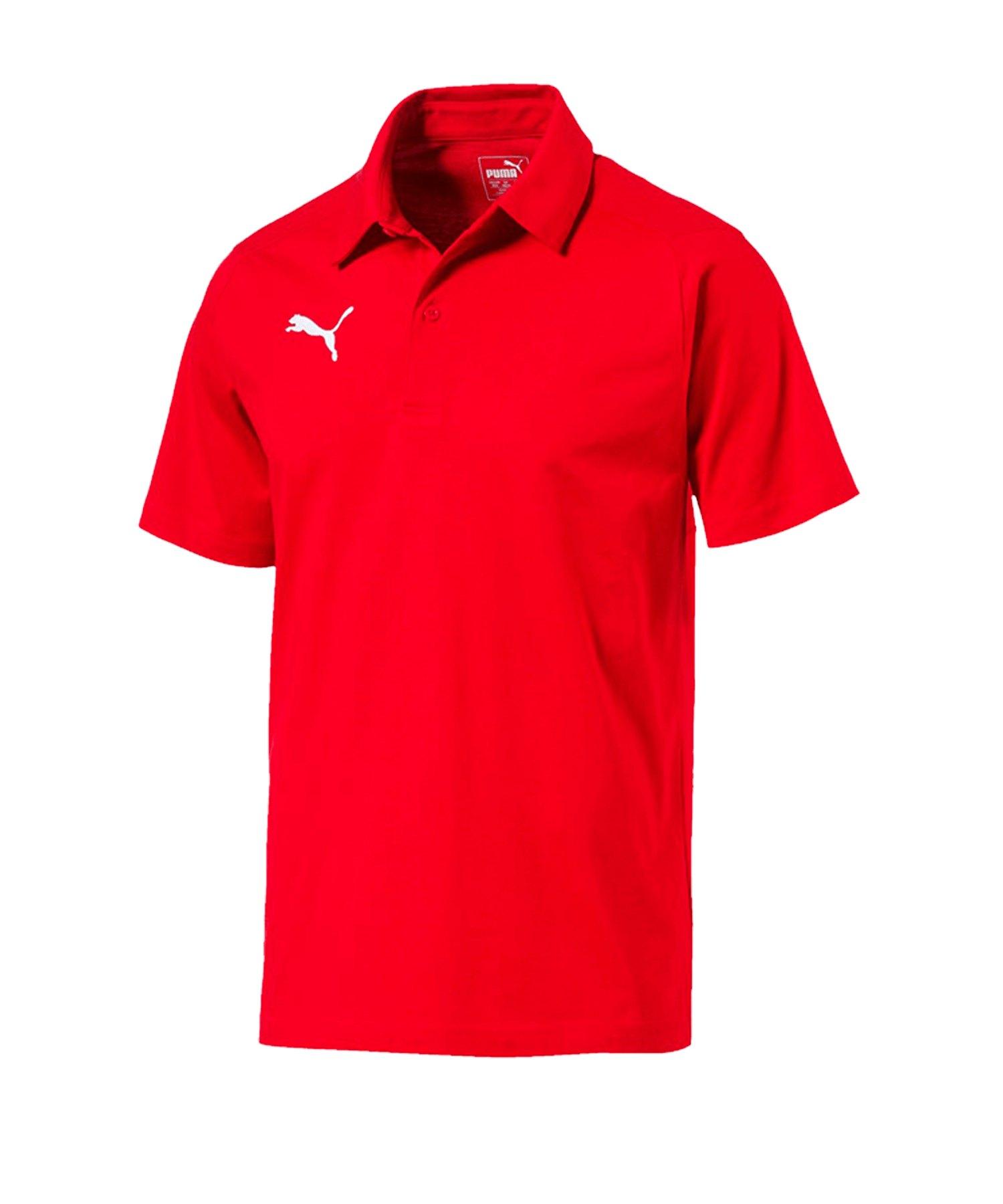 PUMA LIGA Casuals Polshirt Rot F01 - rot