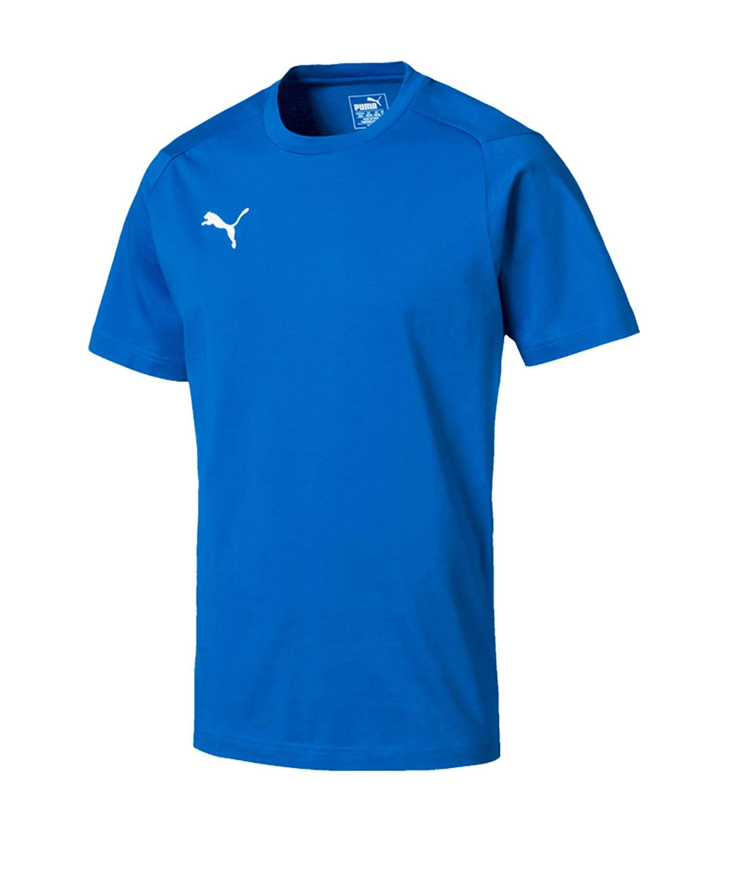 PUMA LIGA Casuals Tee T-Shirt Blau F02 - blau