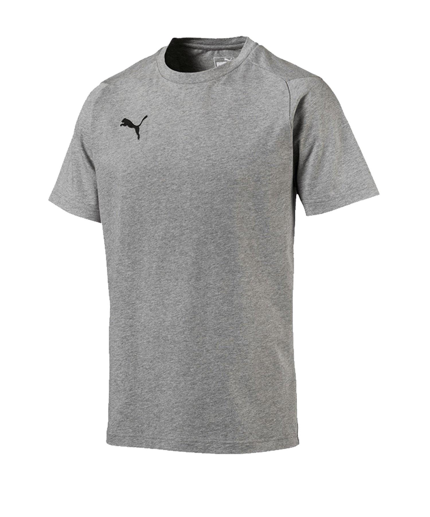 PUMA LIGA Casuals Tee T-Shirt Grau F33 - grau