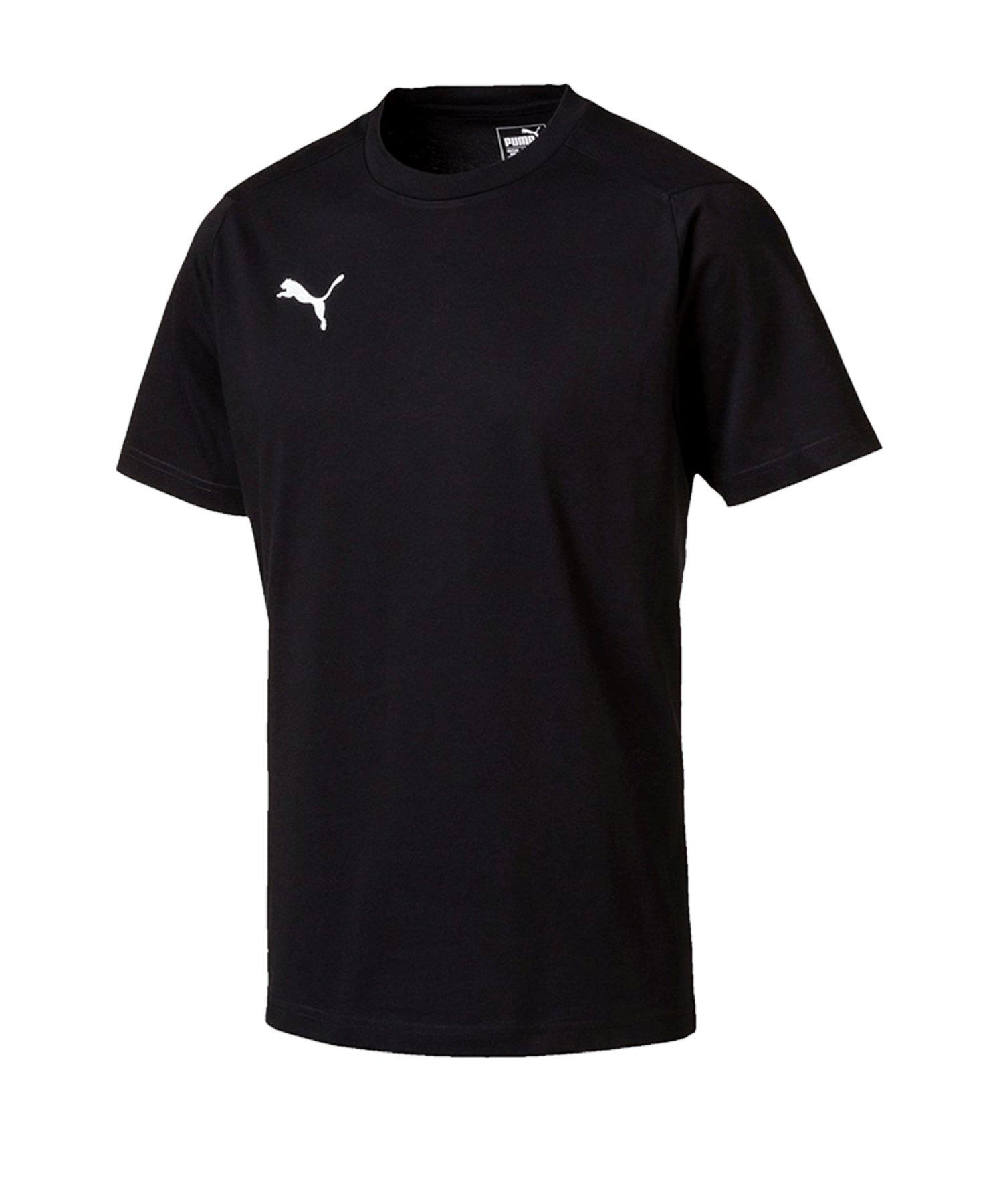 PUMA LIGA Casuals Tee T-Shirt Schwarz F03 - schwarz