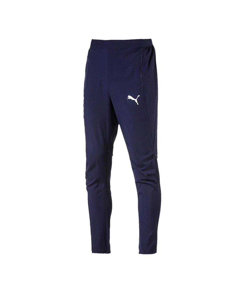 PUMA LIGA Sideline Woven Pant Hose Blau F06 - blau