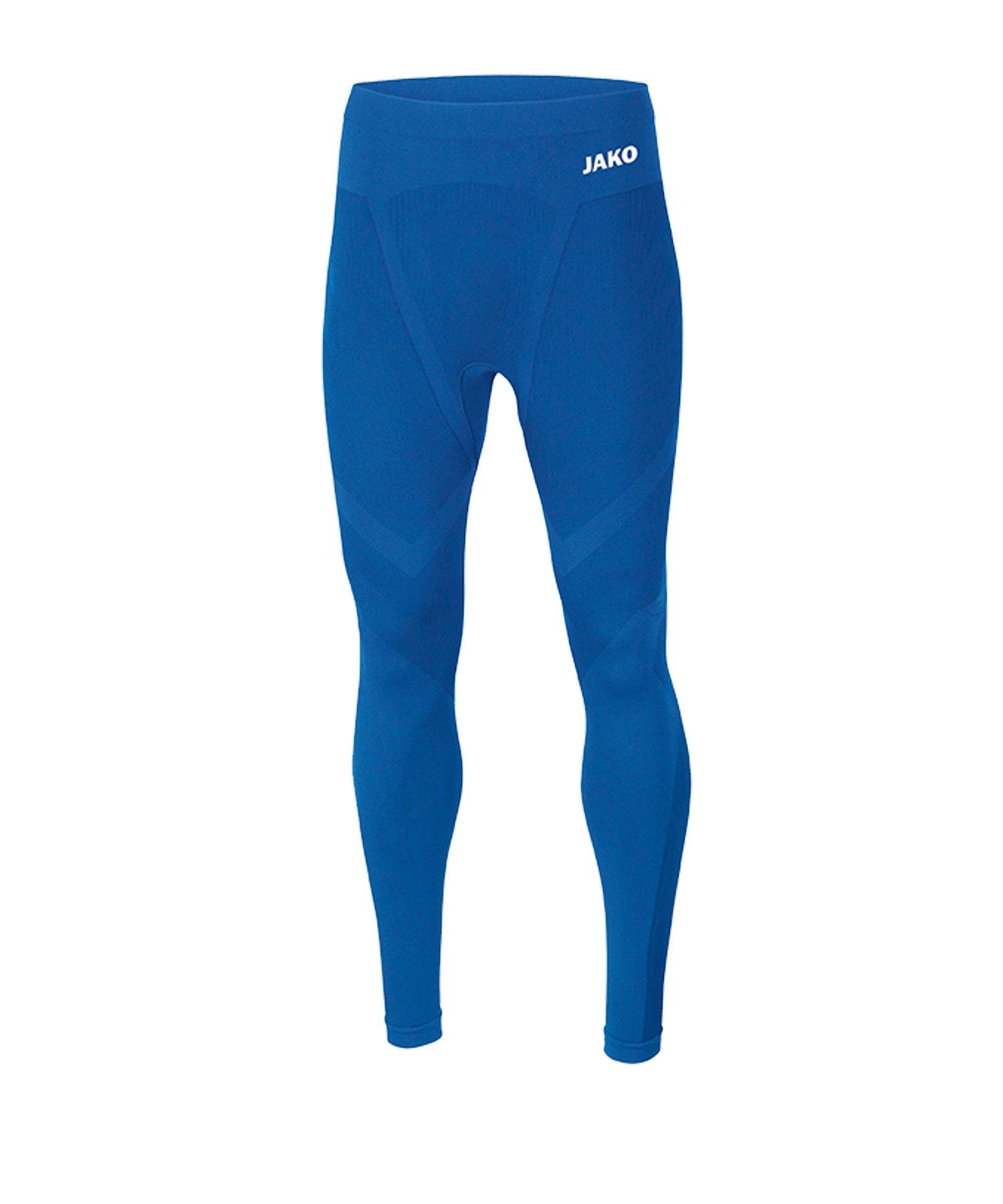 JAKO Comfort 2.0 Long Tight Kids Blau F04 - blau