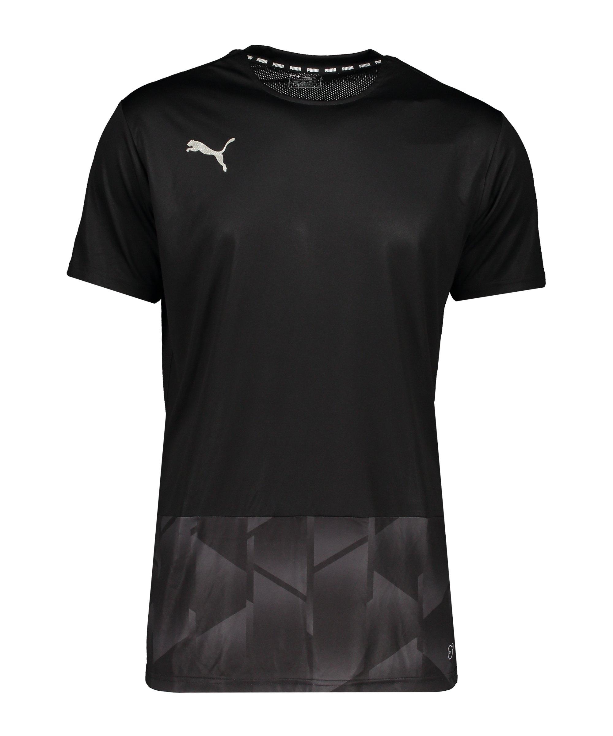PUMA Football NEXT Graphic T-Shirt Schwarz F01 - schwarz