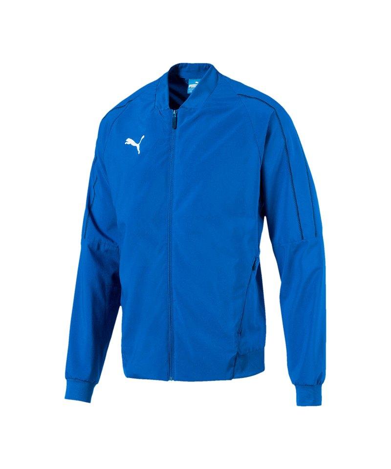 PUMA FINAL Sideline Jacket Jacke Blau F02 - blau