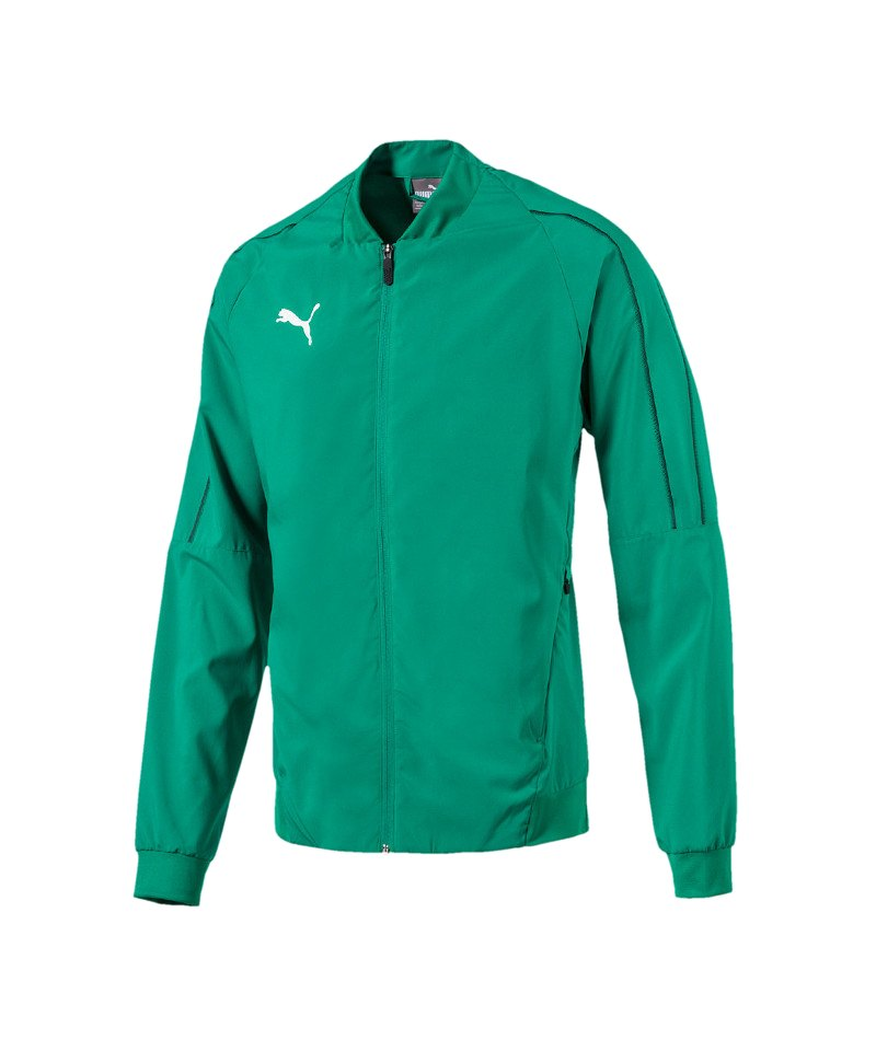 PUMA FINAL Sideline Jacket Jacke Grün F05 - gruen