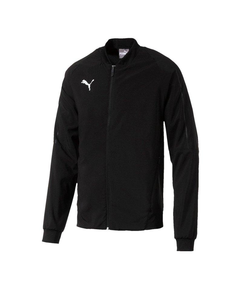 PUMA FINAL Sideline Jacket Jacke Schwarz F03 - schwarz