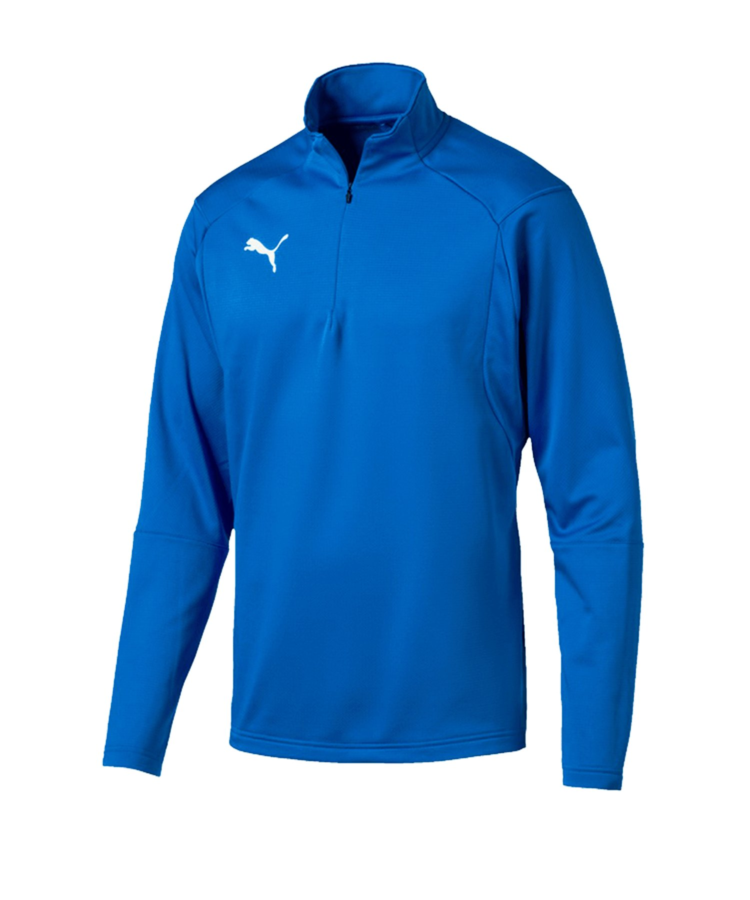 PUMA LIGA Training 1/4 Zip Top Sweatshirt Blau F02 - blau