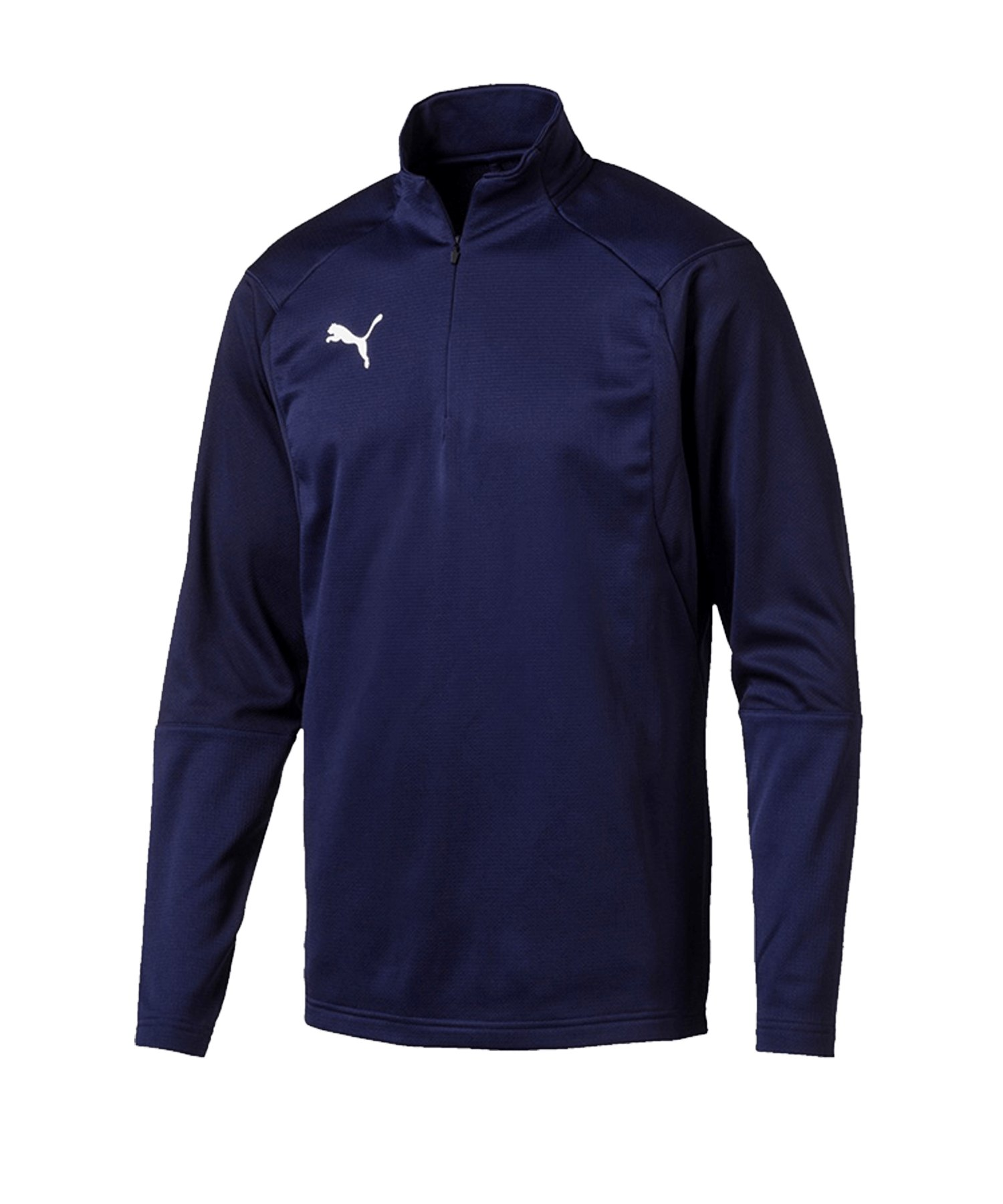 PUMA LIGA Training 1/4 Zip Top Sweatshirt Blau F06 - blau