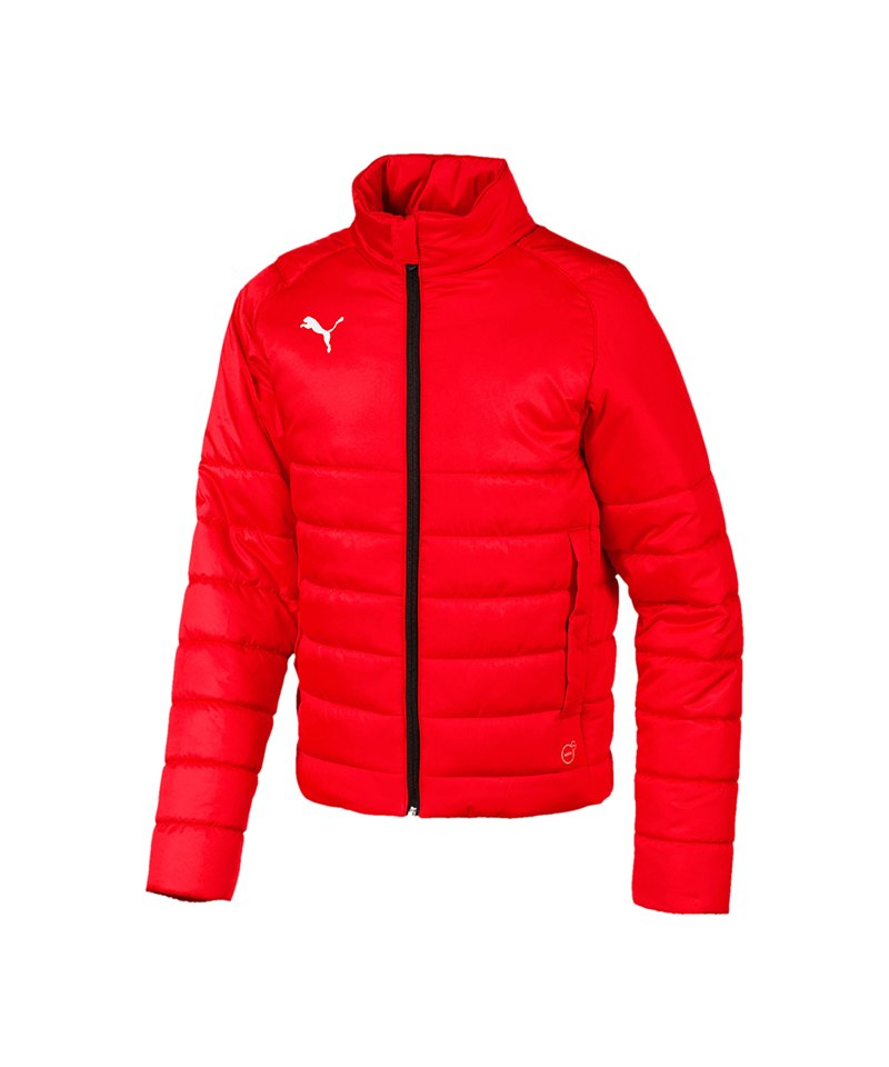 PUMA LIGA Casuals Padded Jacket Kids Rot F01 - rot