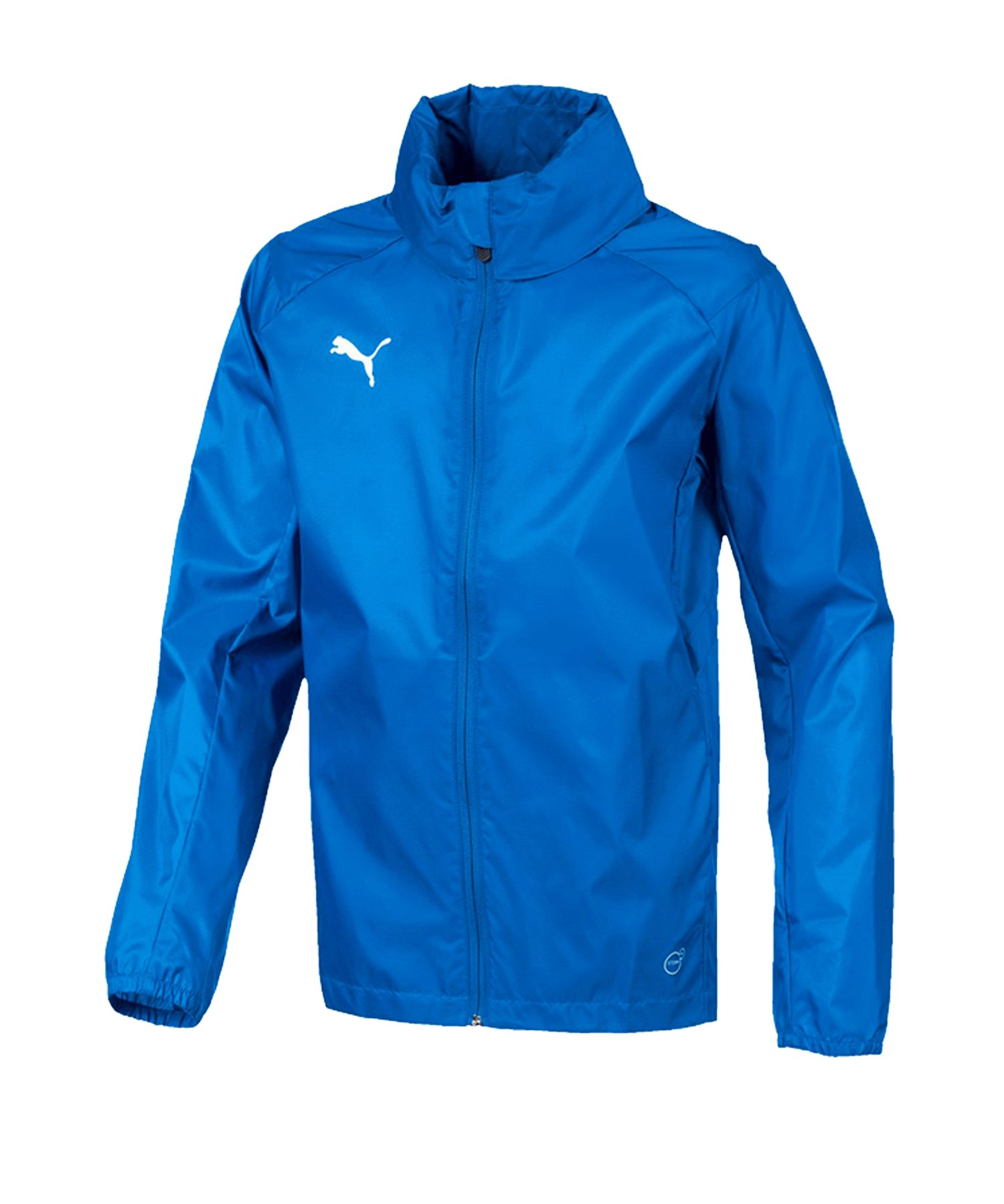 PUMA LIGA Training Rain Jacket Regenjacke Kids F02 - blau