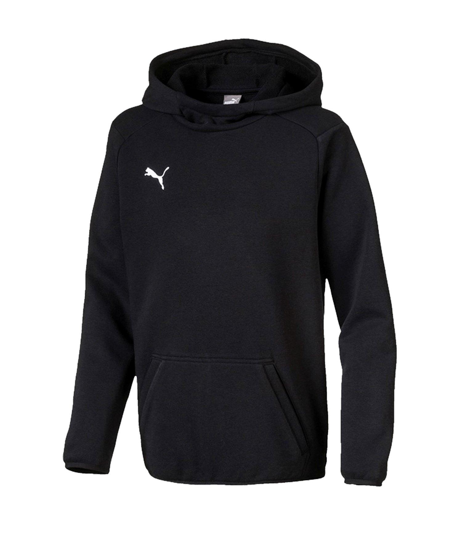 PUMA LIGA Casuals Kapuzensweatshirt Kids F03 - schwarz
