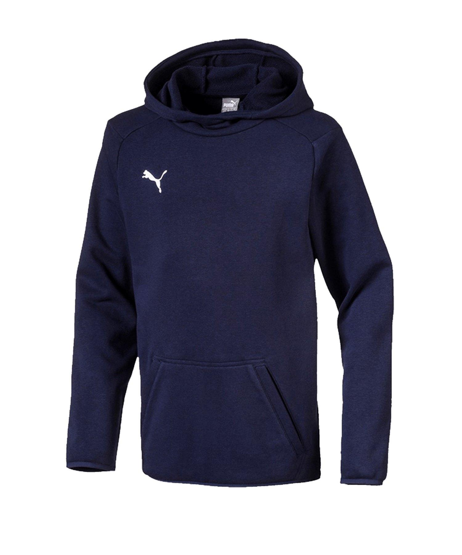 PUMA LIGA Casuals Kapuzensweatshirt Kids F06 - blau