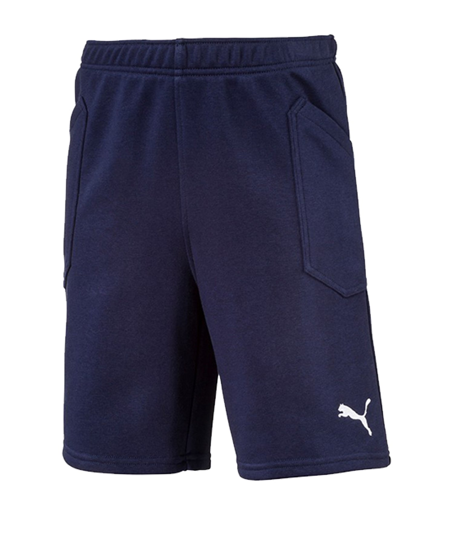 PUMA LIGA Casuals Short Kids Blau Weiss F06 - blau