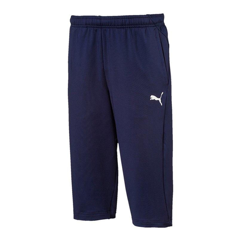 PUMA LIGA Training 3/4 Pant Kids Blau F06 - blau