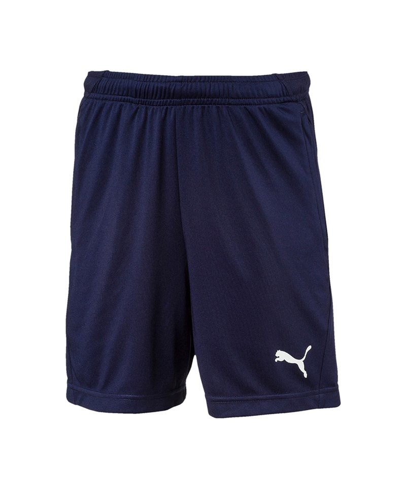 PUMA LIGA Training Short Kids Blau Weiss F06 - blau