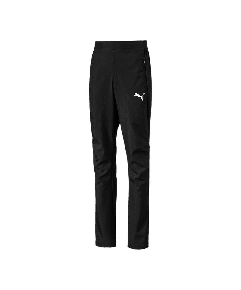PUMA LIGA Sideline Woven Pant Hose Kids F03 - schwarz