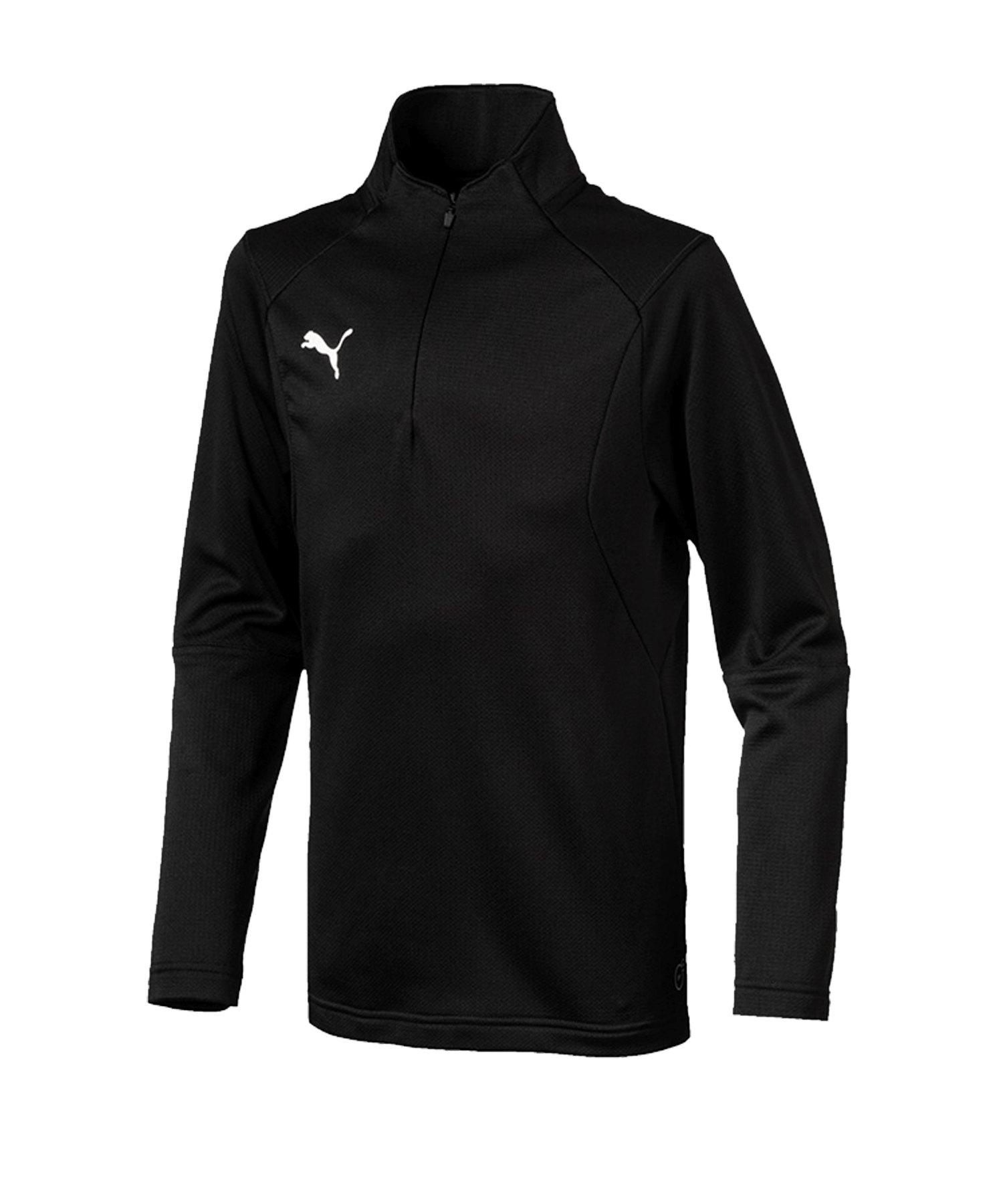 PUMA LIGA Training 1/4 Zip Top Sweatshirt Kids F03 - schwarz