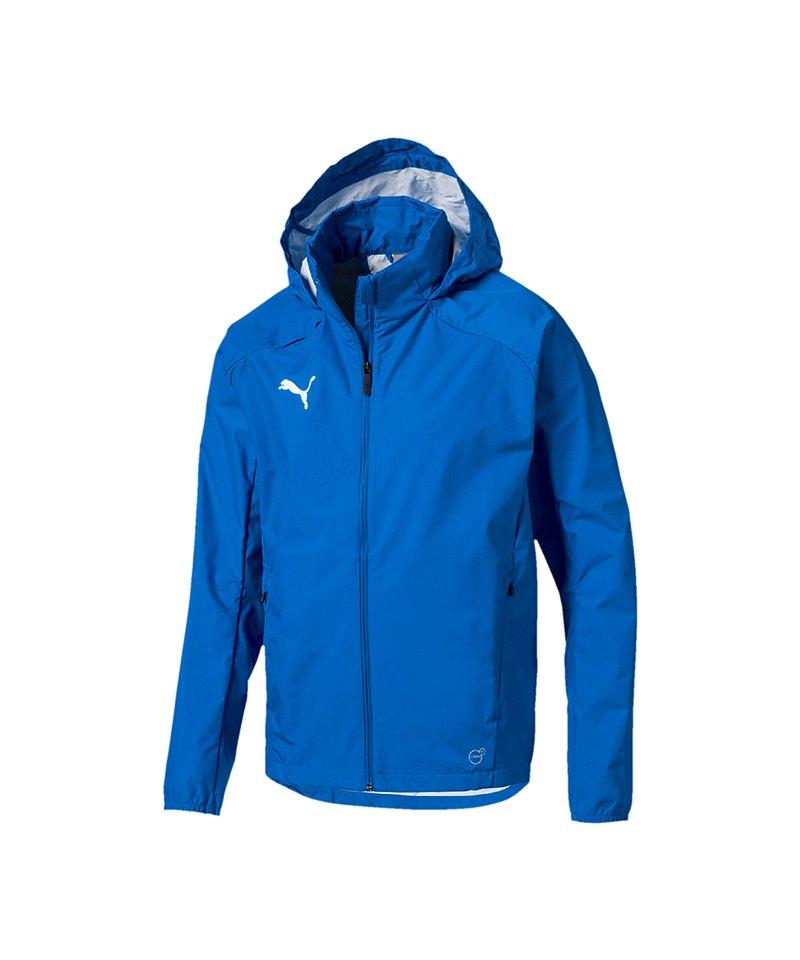 PUMA LIGA Training Rain Jacket Regenjacke F02 - blau