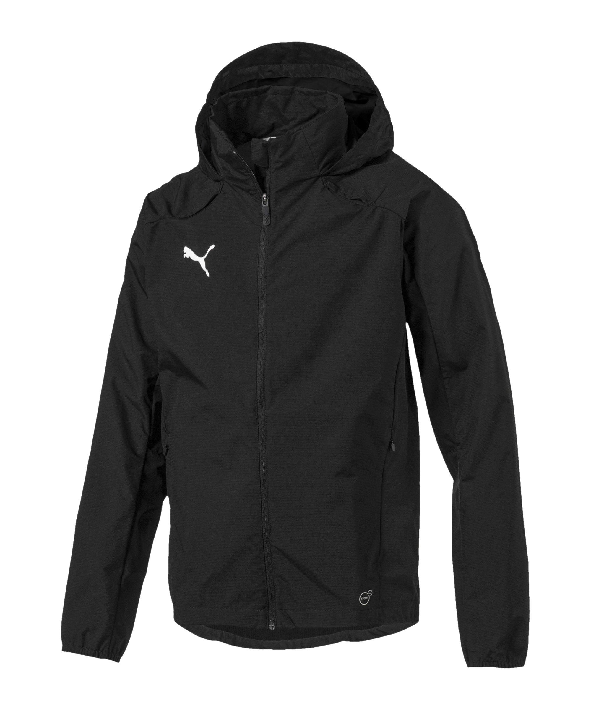 PUMA LIGA Training Rain Jacket Regenjacke F03 - schwarz