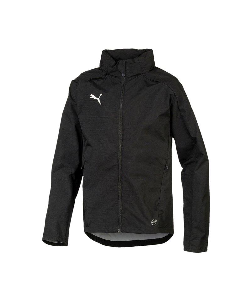 PUMA LIGA Training Rain Jacket Regenjacke Kids F03 - schwarz