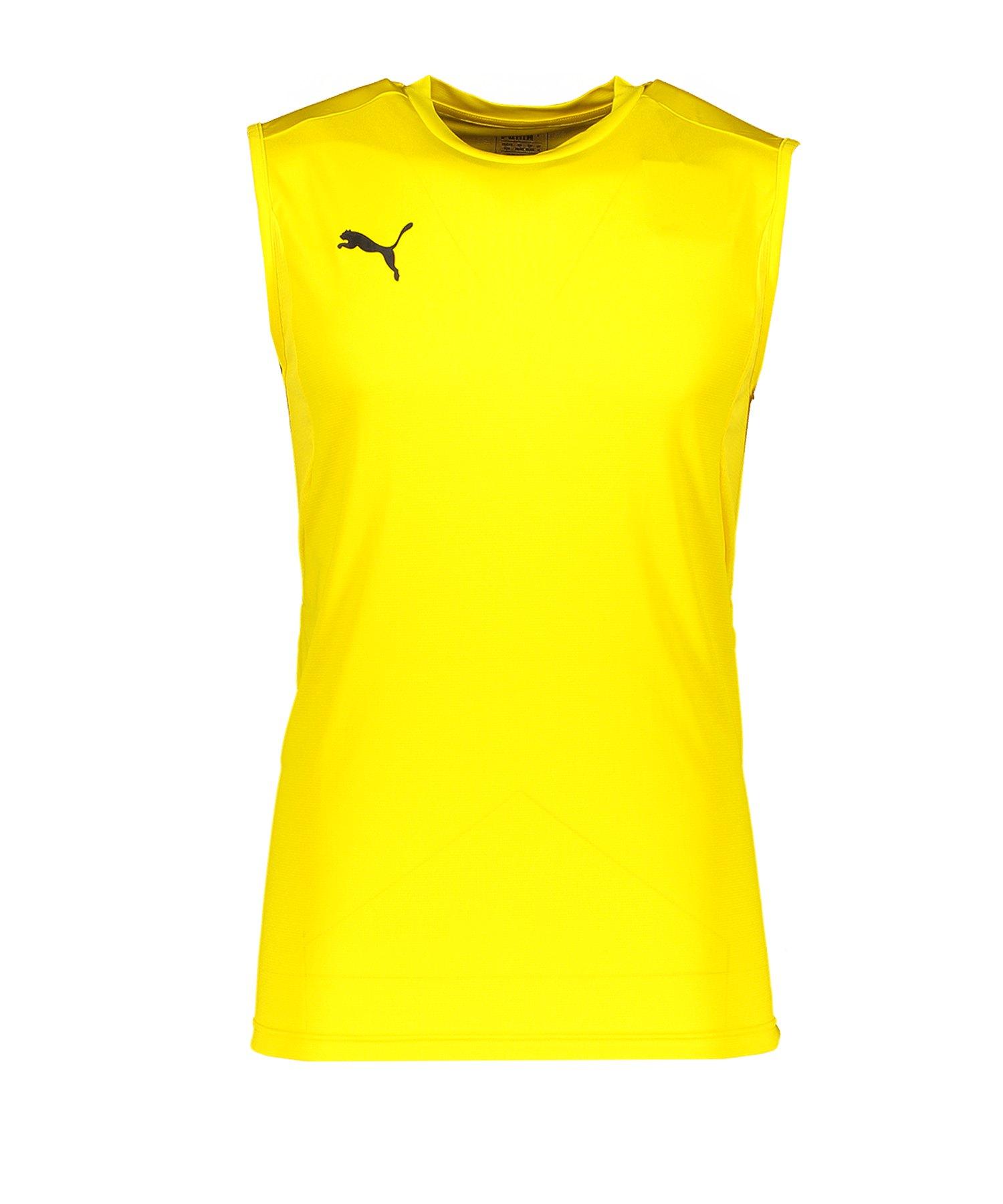 PUMA LIGA Training Jersey Sleeveless Gelb F07 - gelb
