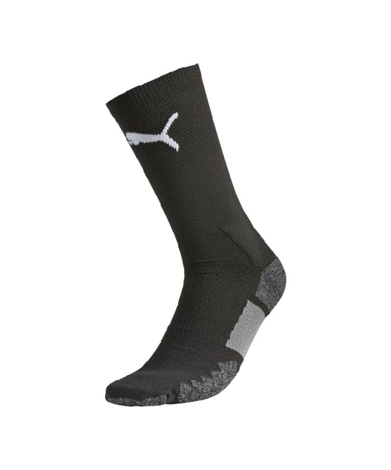 PUMA LIGA Crew Training Socks Socken Schwarz F03 - schwarz