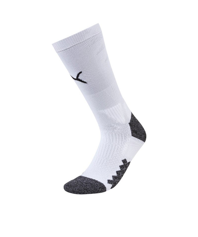 PUMA LIGA Crew Training Socks Socken Weiss F04