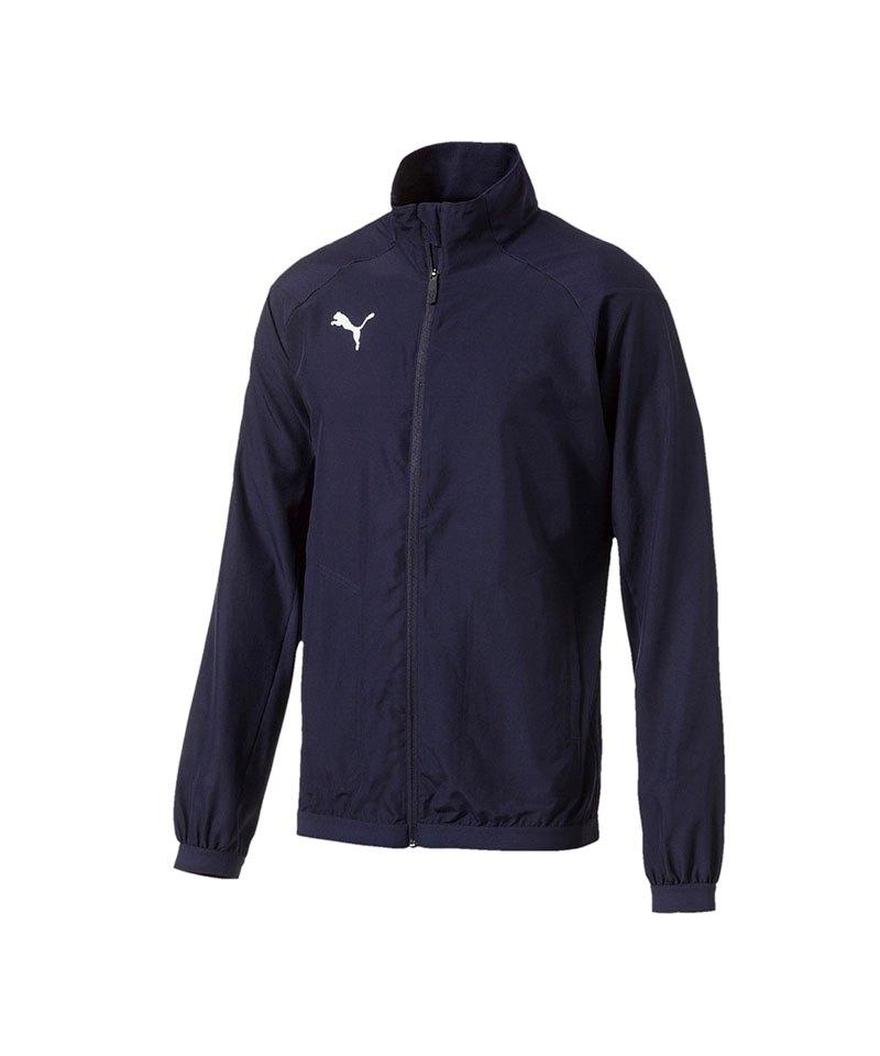 PUMA LIGA Sideline Jacket Jacke Dunkelblau F06 - blau