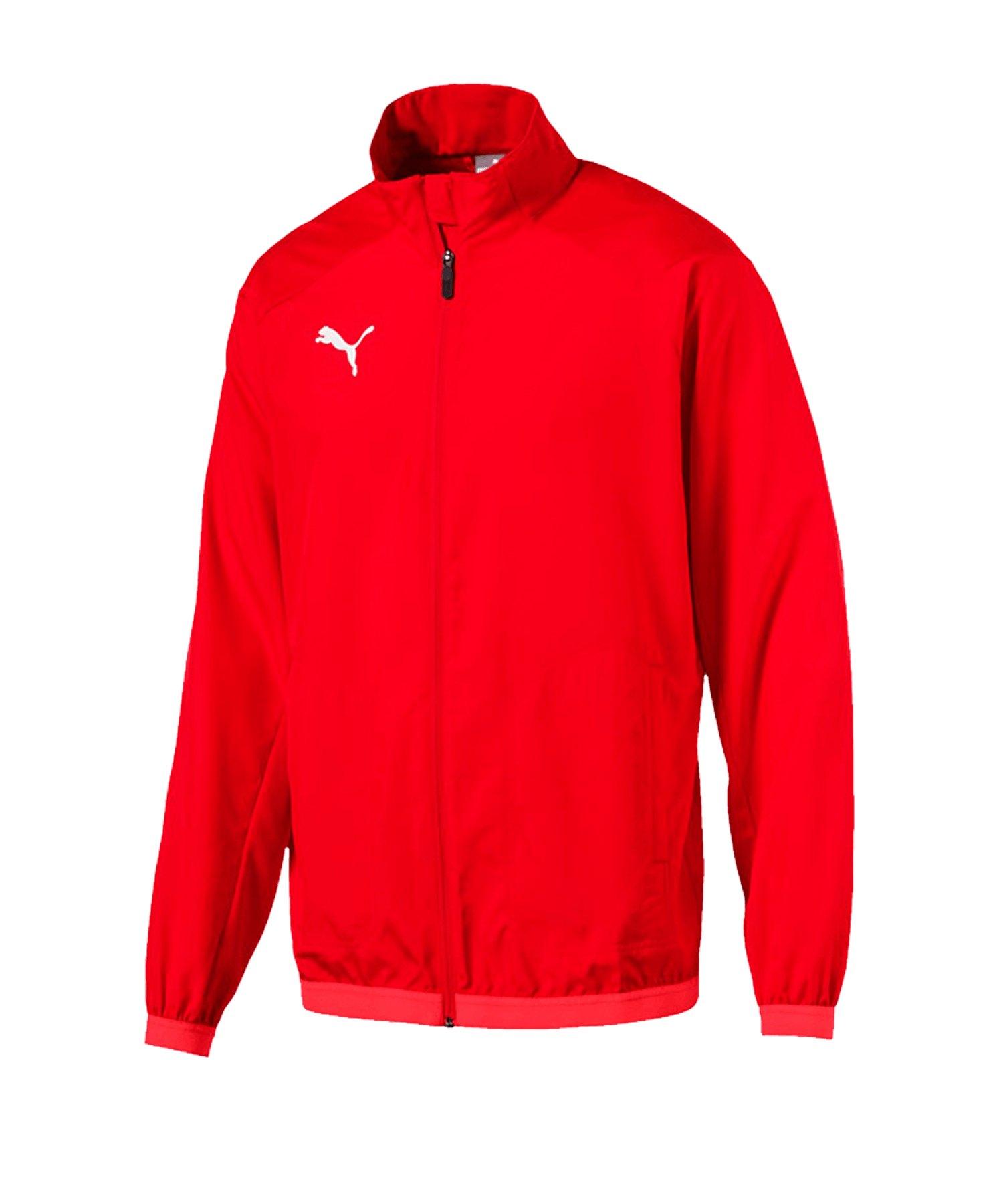 PUMA LIGA Sideline Jacket Jacke Rot Weiss F01 - rot