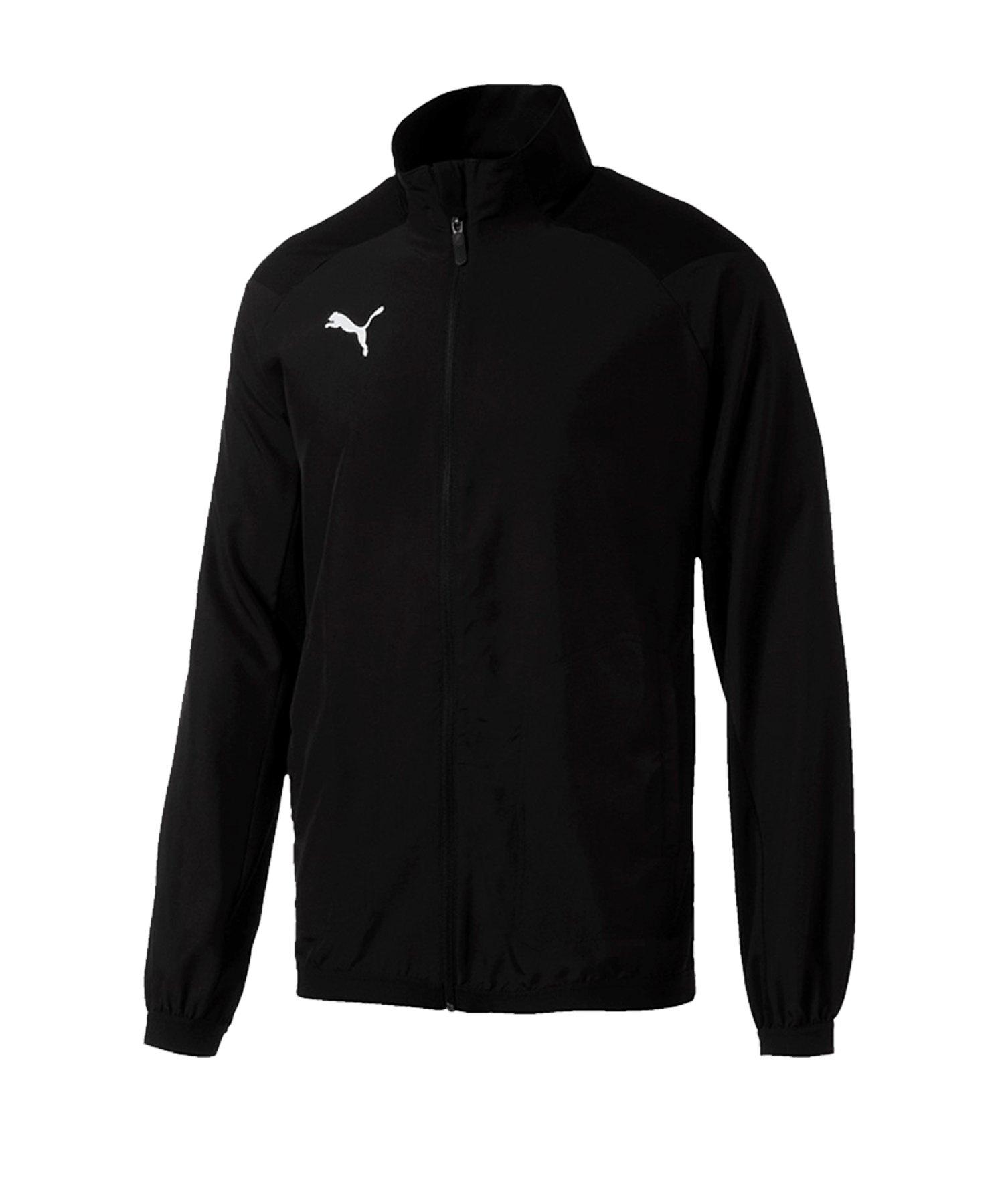 PUMA LIGA Sideline Jacket Jacke Schwarz Weiss F03 - schwarz