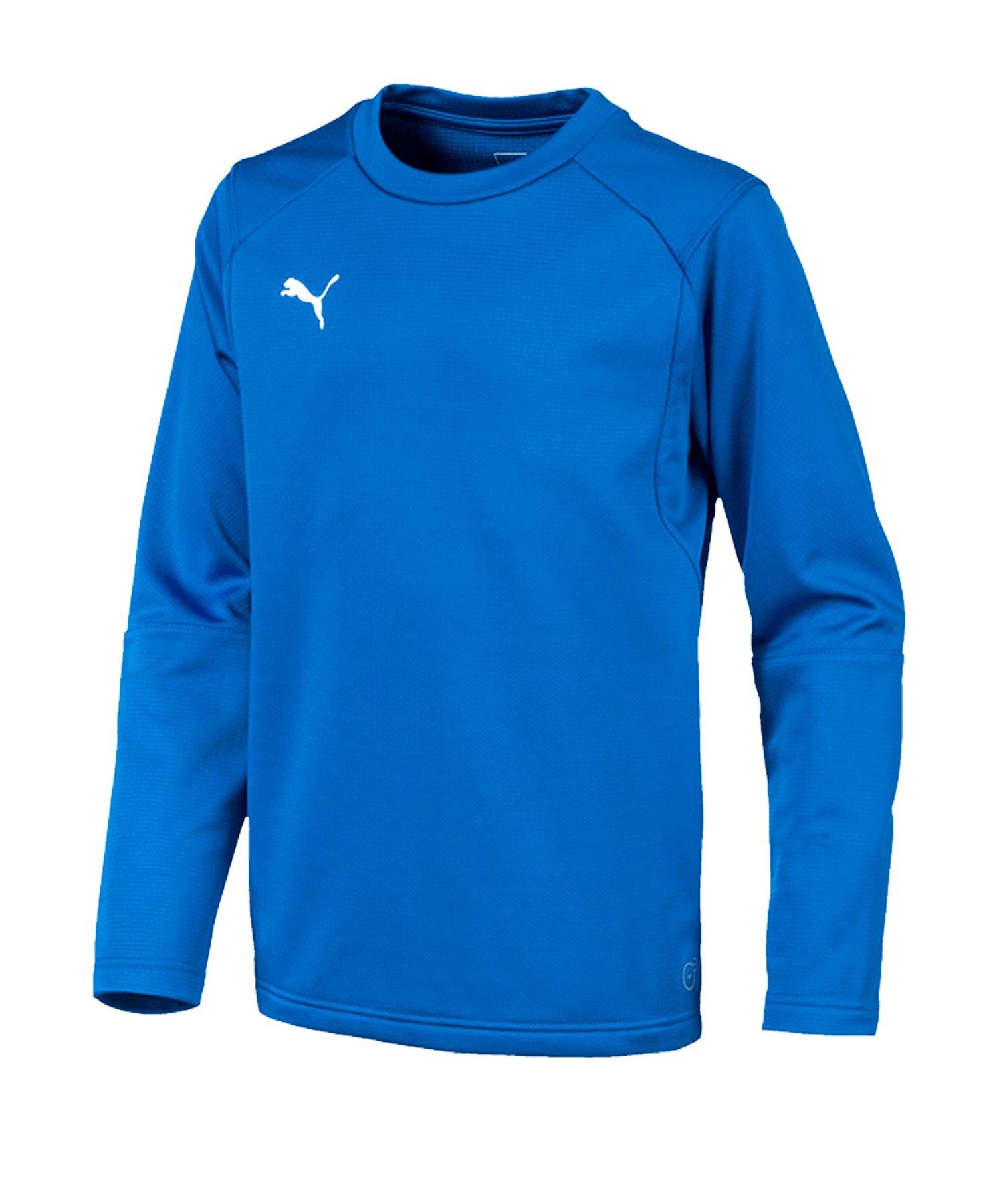 PUMA LIGA Training Sweatshirt Kids Blau F02 - blau