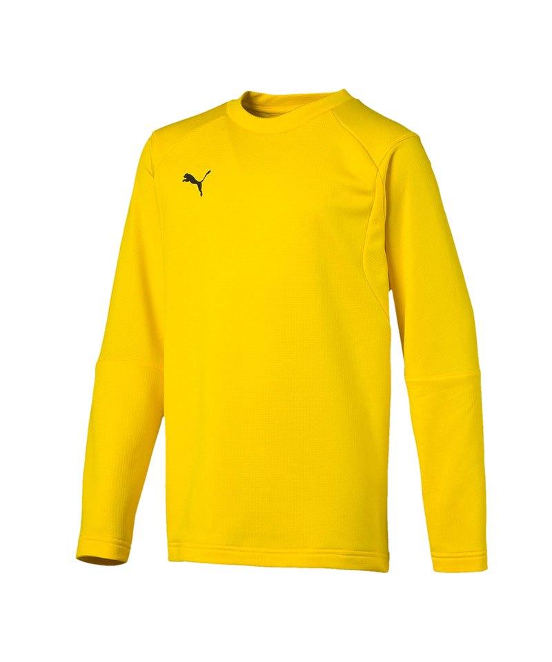 PUMA LIGA Training Sweatshirt Kids Gelb F07 - gelb
