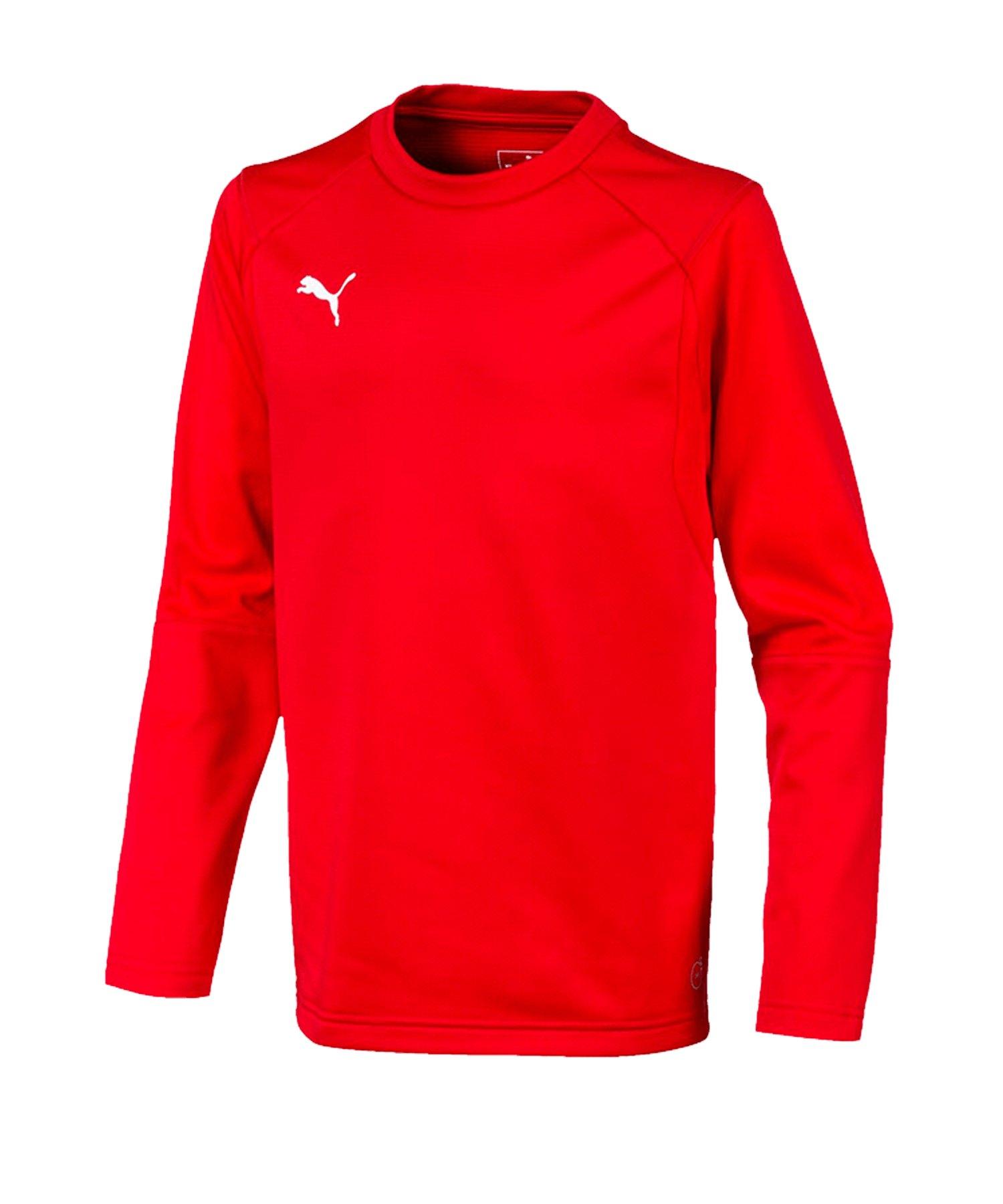 PUMA LIGA Training Sweatshirt Kids Rot F01 - rot