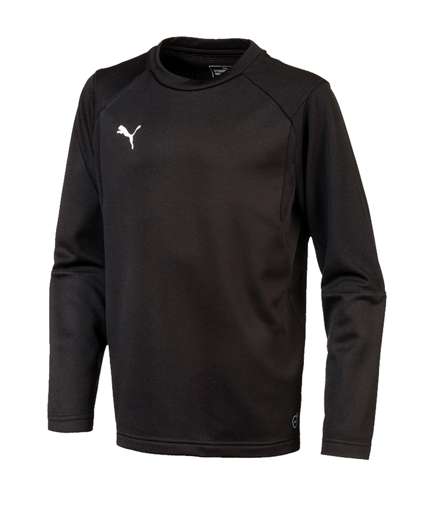 PUMA LIGA Training Sweatshirt Kids Schwarz F03 - schwarz