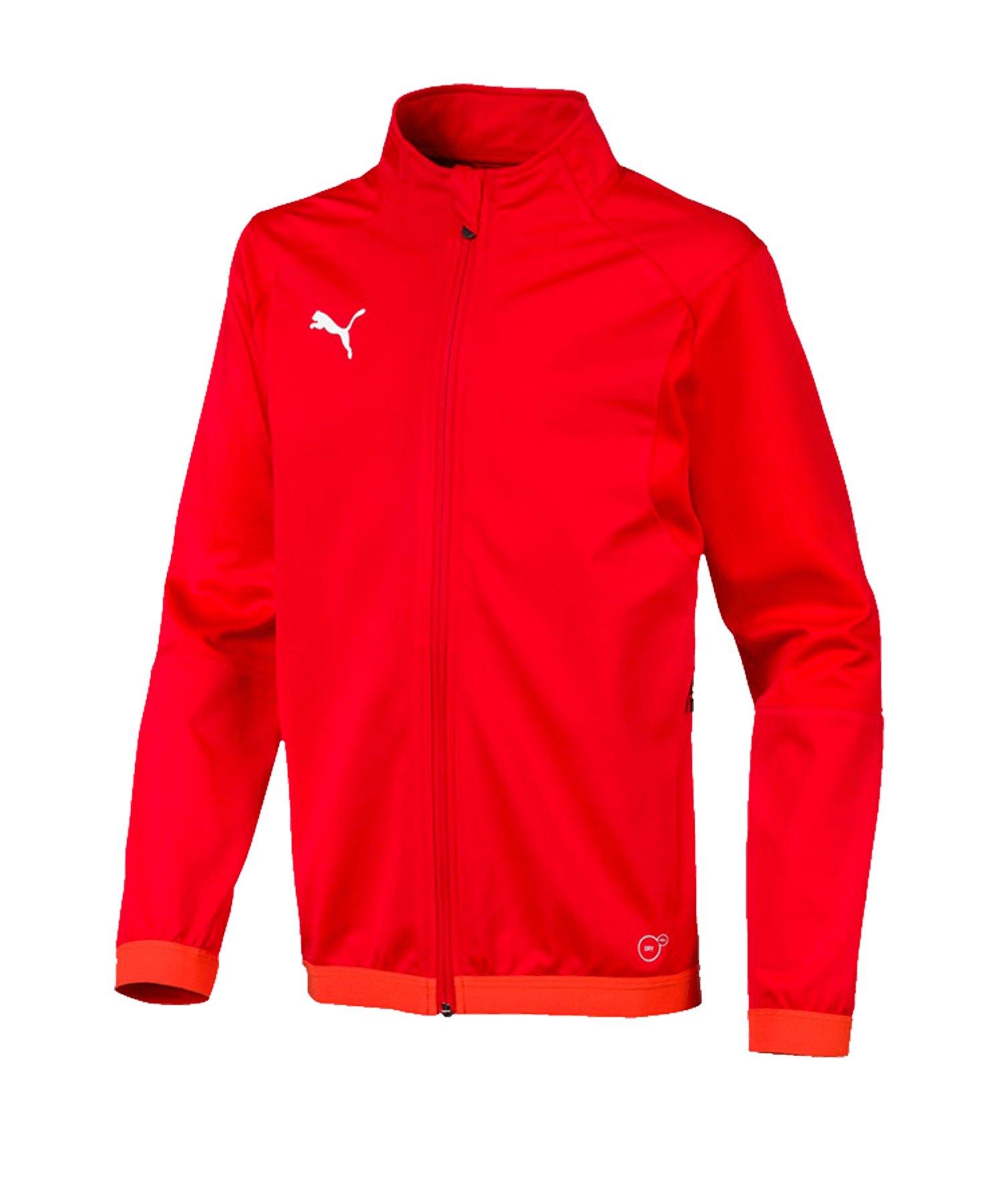 PUMA LIGA Training Jacket Trainingsjacke Kids F01 - rot