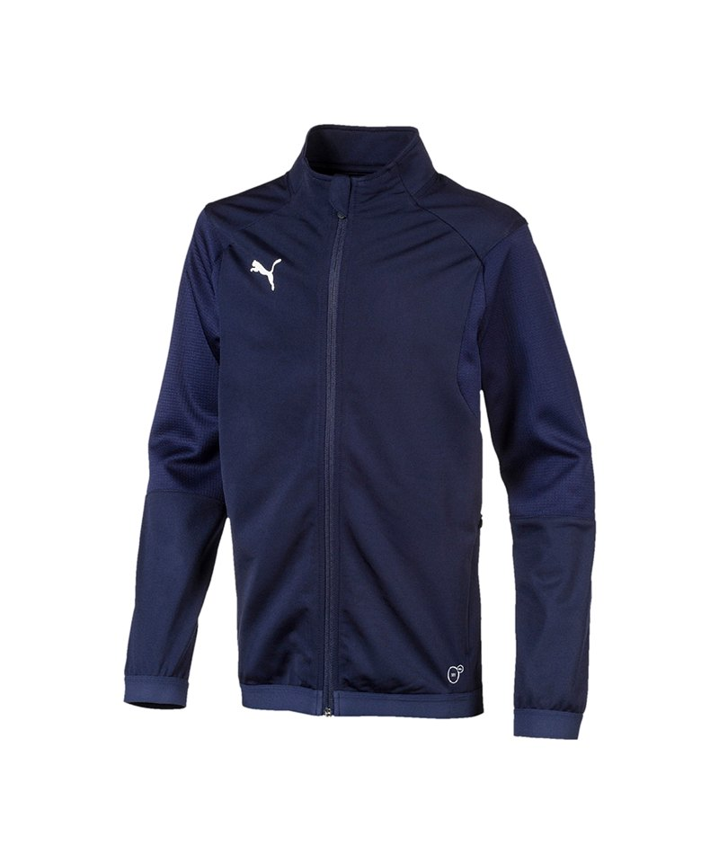 PUMA LIGA Training Jacket Trainingsjacke Kids F06 - blau