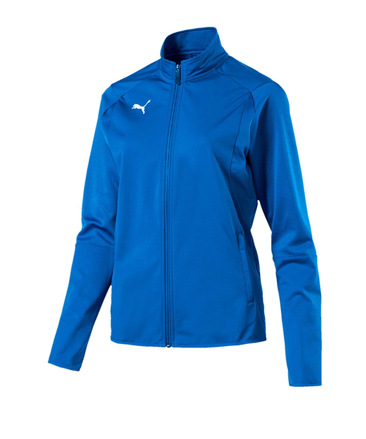PUMA LIGA Trainingsjacke Damen Blau F02 - blau