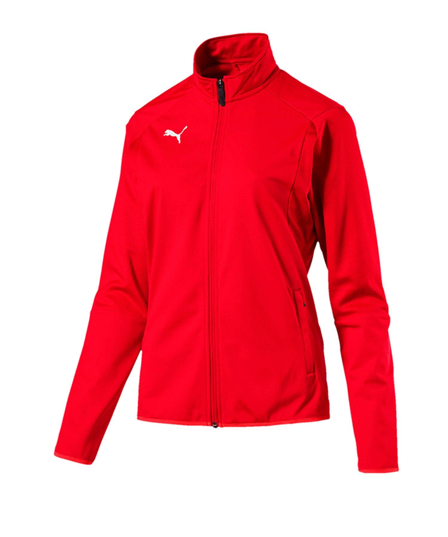 PUMA LIGA Trainingsjacke Damen Rot F01 - rot