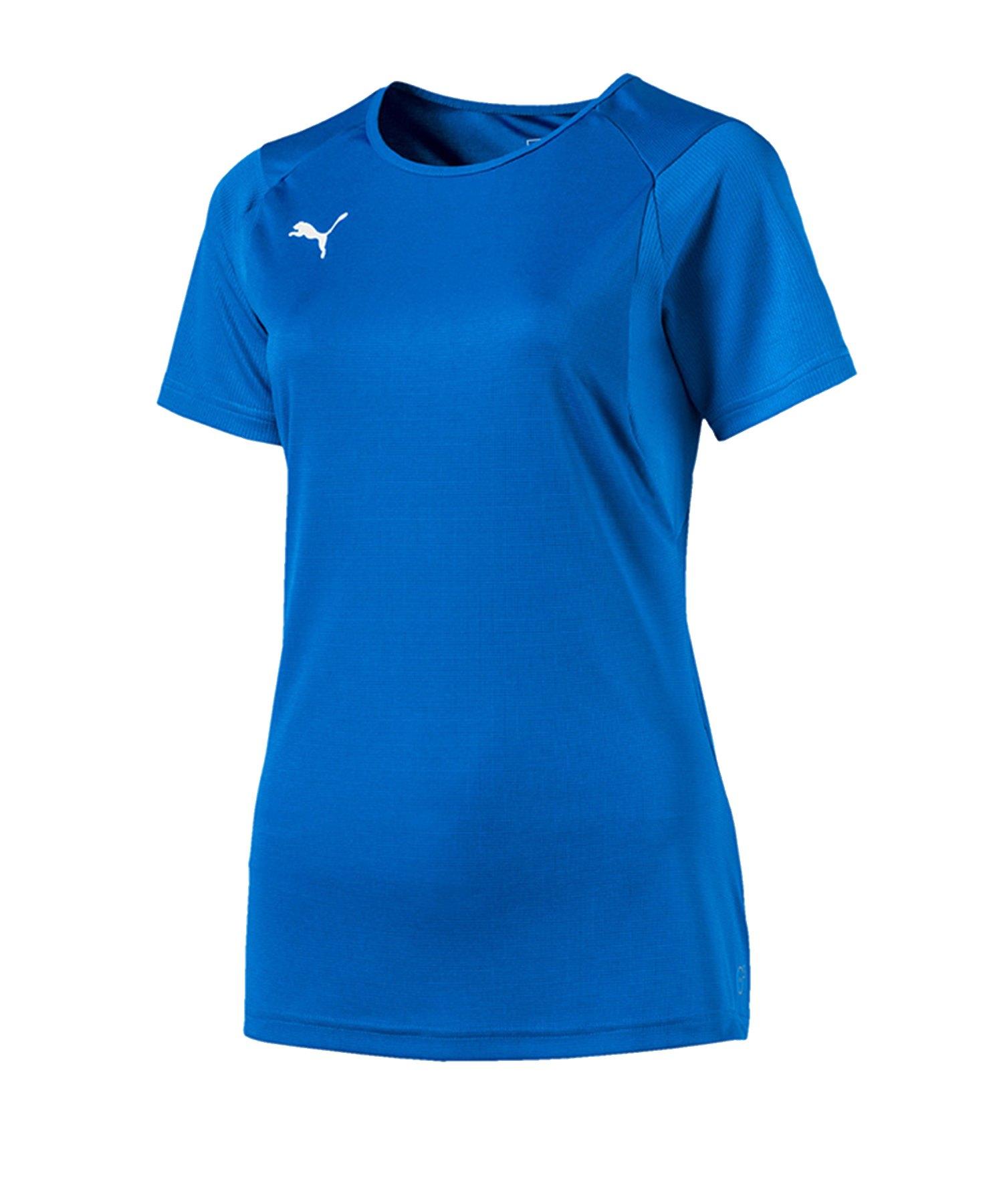 PUMA LIGA Training T-Shirt Damen Blau F02 - blau