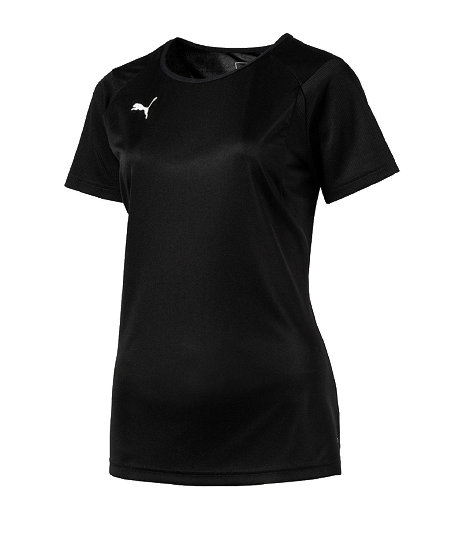 PUMA LIGA Training T-Shirt Damen Schwarz F03 - schwarz