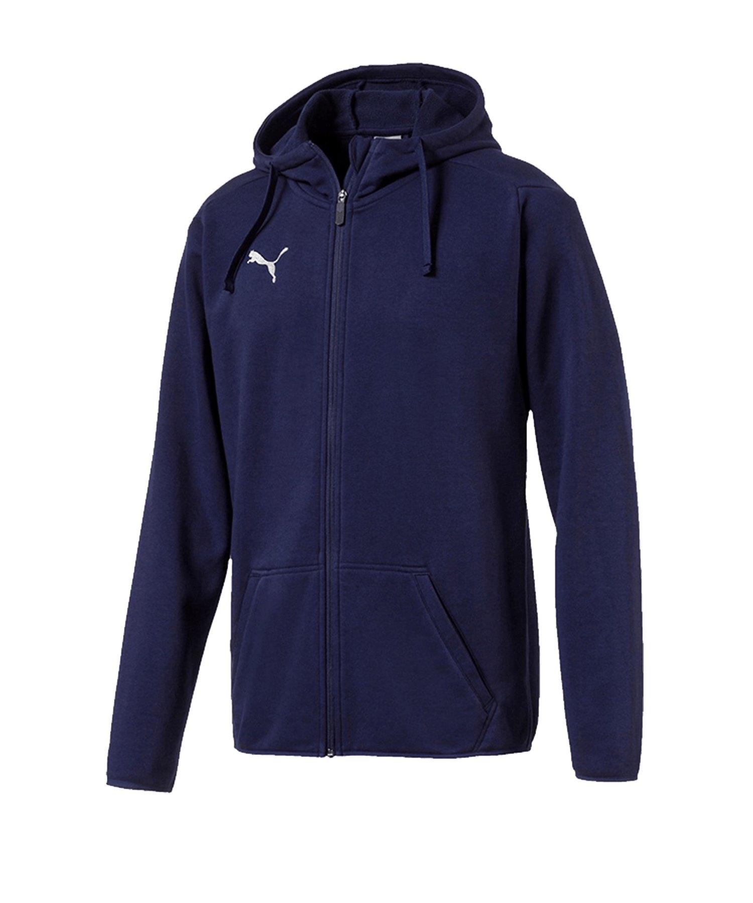 PUMA LIGA Casual Jacket Jacke Dunkelblau F06 - blau
