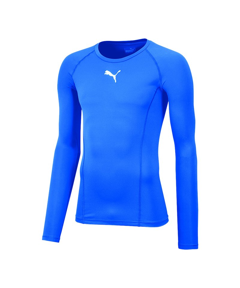 PUMA LIGA Baselayer Warm Longsleeve Kids F02 - blau