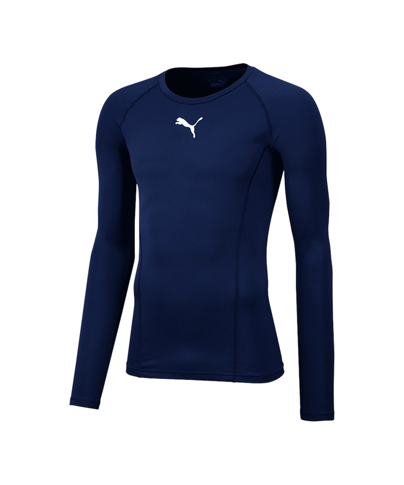PUMA LIGA Baselayer Warm Longsleeve Kids F20 - blau