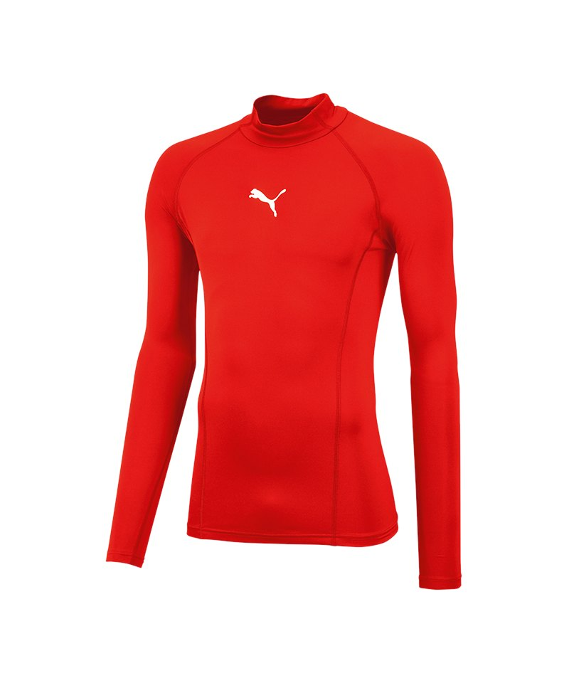 PUMA LIGA Baselayer Warm Longsleeve Shirt F01 - rot
