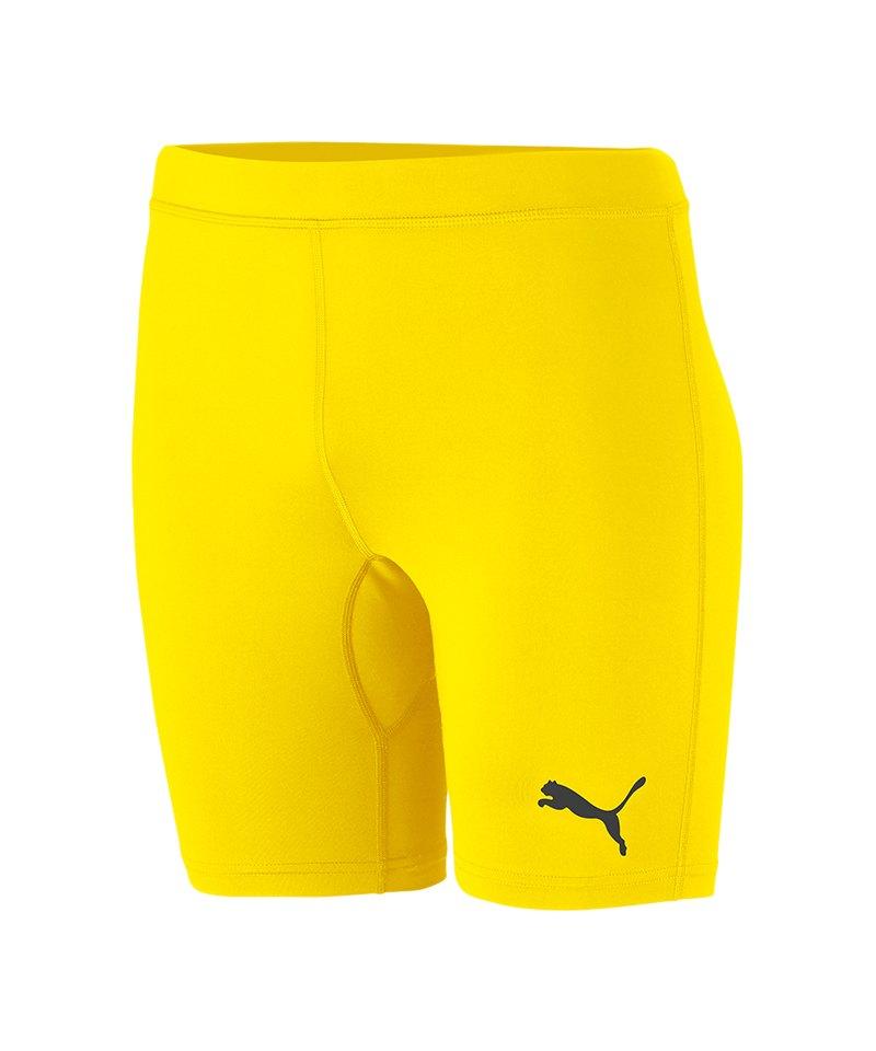PUMA LIGA Baselayer Short Gelb F06 - gelb