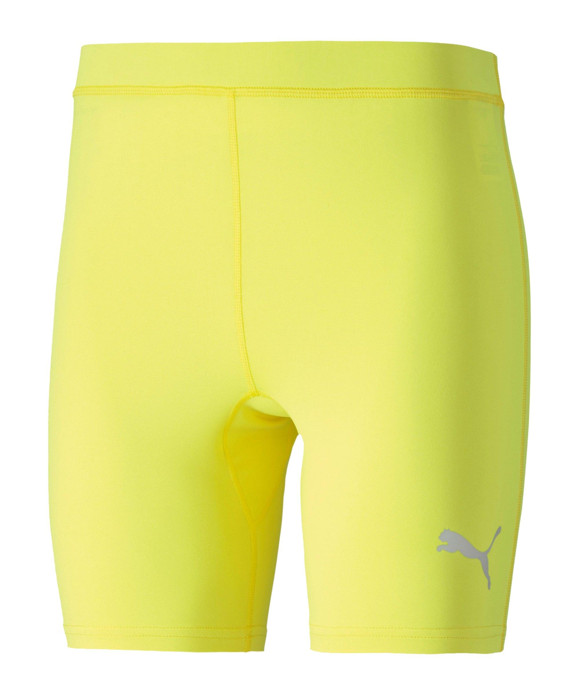 PUMA LIGA Baselayer Short Gelb F33 - gelb