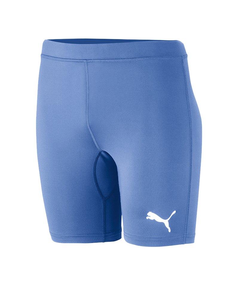 PUMA LIGA Baselayer Short Hellblau F18 - blau